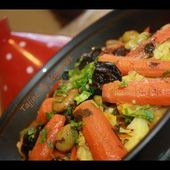 Tajine de légumes: طجين الخضرا/Vegetables Tagine