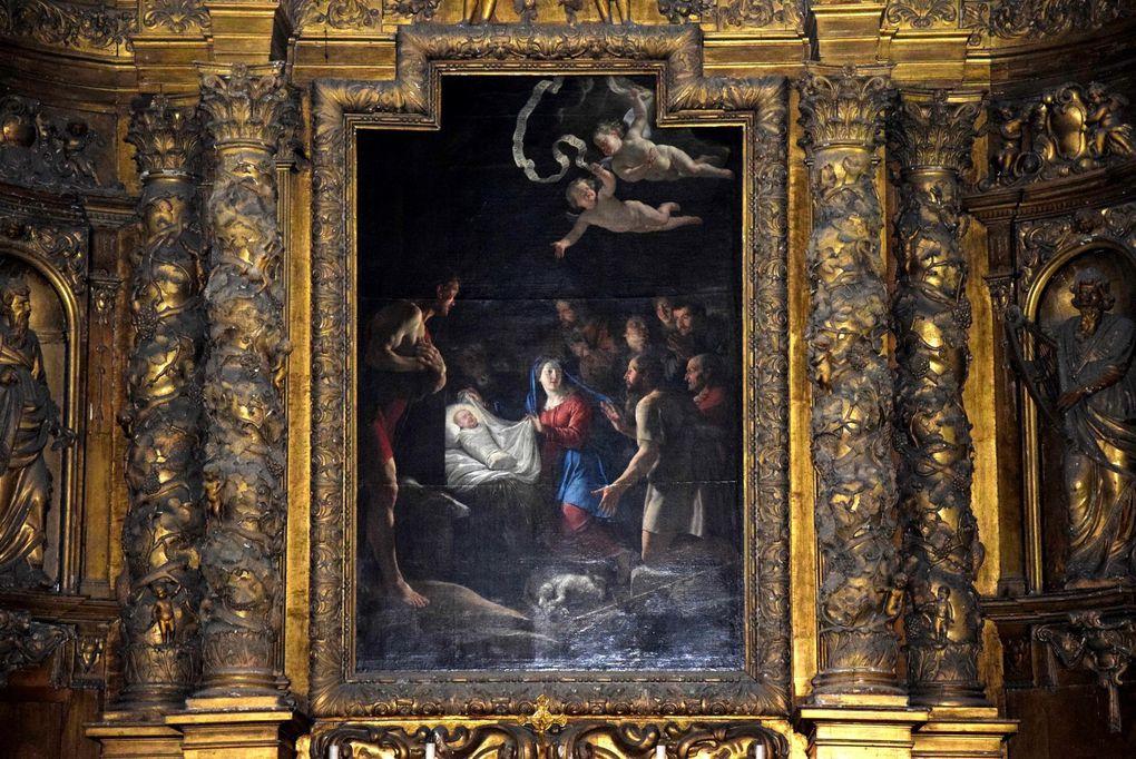 La chapelle de la vierge et détails