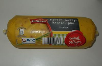 Aldi Pottkieker Möhren-Curry-Kokos-Suppe