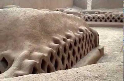 Google Earth : Site archéologique de Chan Chan (Pérou)