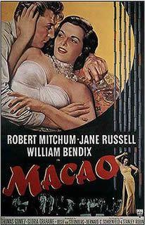 Le Paradis des mauvais garçons de Josef von Sternberg avec Robert Mitchum - Jane Russell - William Bendix - Thomas Gomez - Gloria Grahame