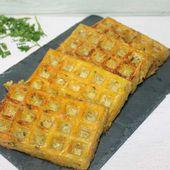 Gaufres de pommes de terre carottes et persil - Chez Vanda