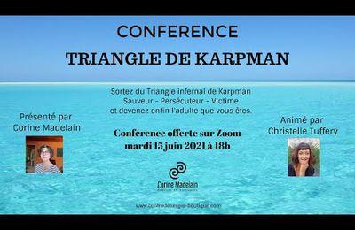 Replay Conférence Triangle de Karpman