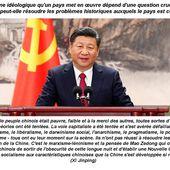 """"""" Maintenir et développer le socialisme avec des caractéristiques chinoises """" (Xi Jinping) - A contre air du temps"""