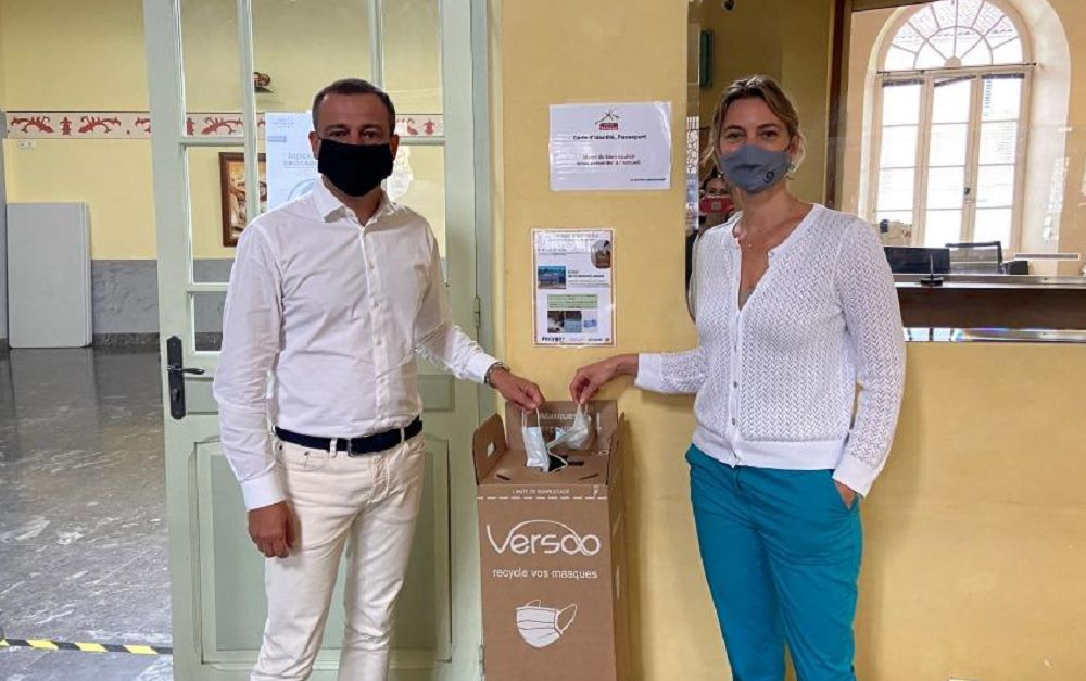 Recyclage masques sanitaires