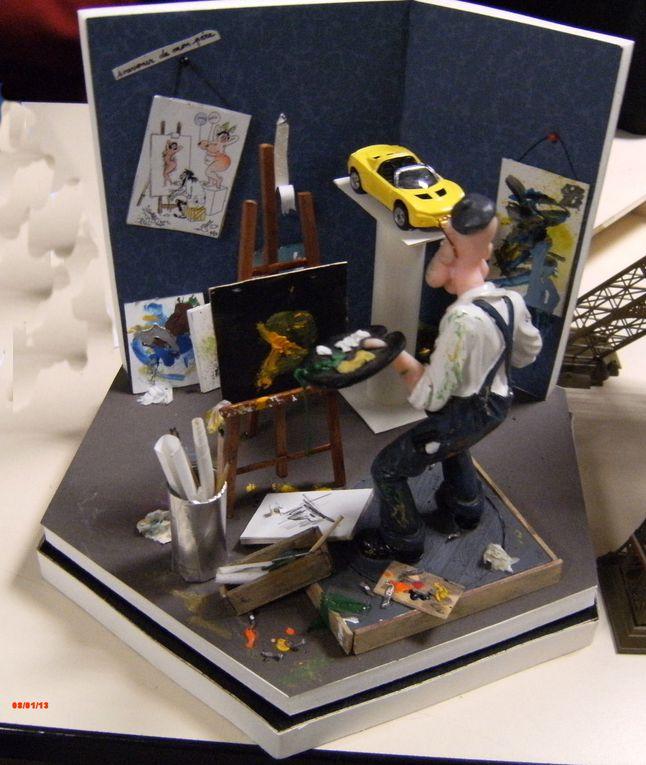 les dioramas les cadeaux