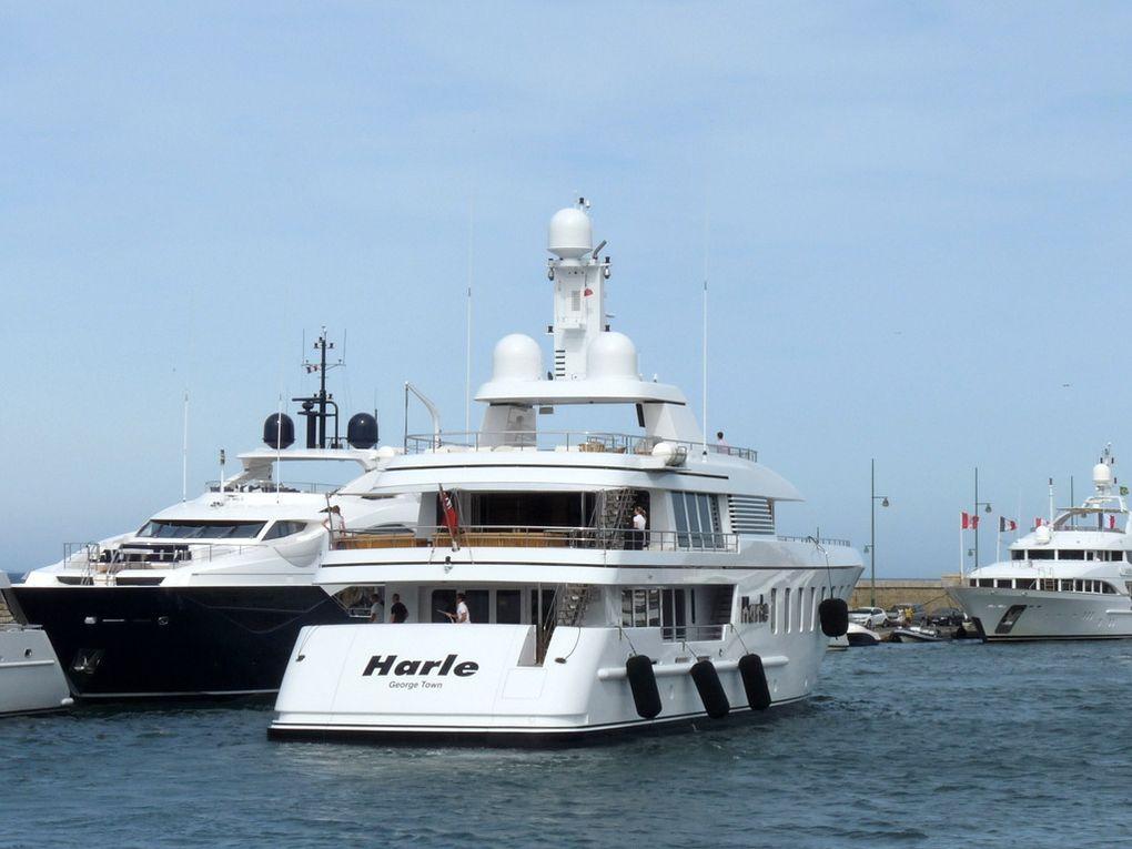 HARLE , arrivant au port de Saint Tropez le 19 aout 2017