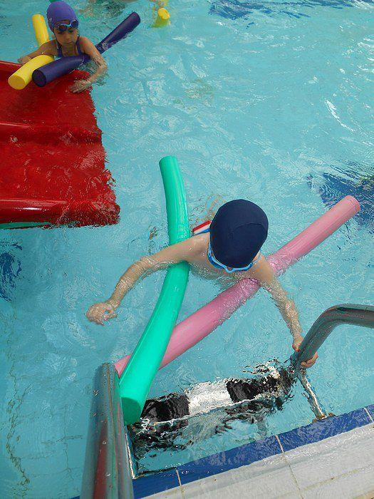 Les MS à la piscine