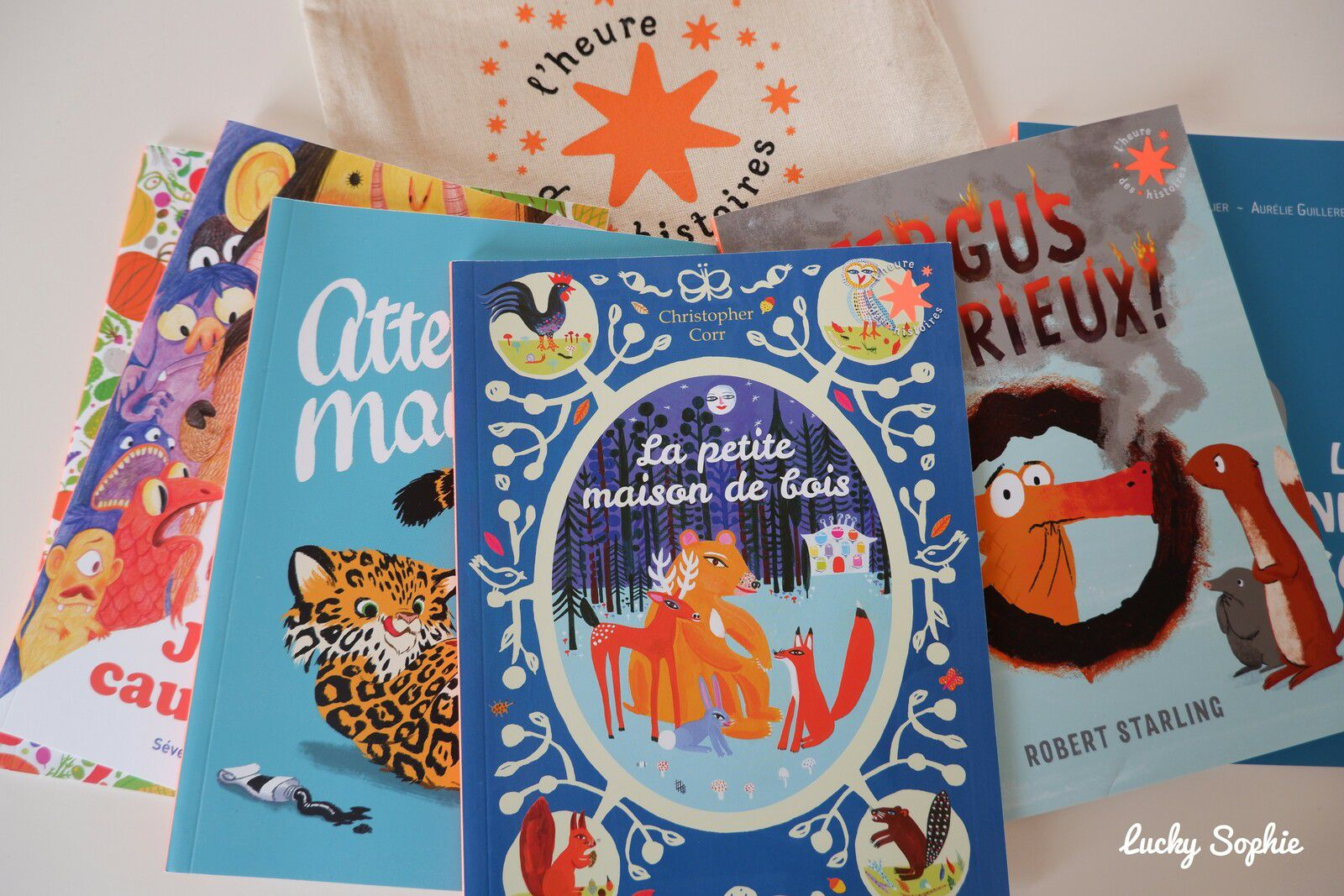 L'adorable collection l'heure des histoires