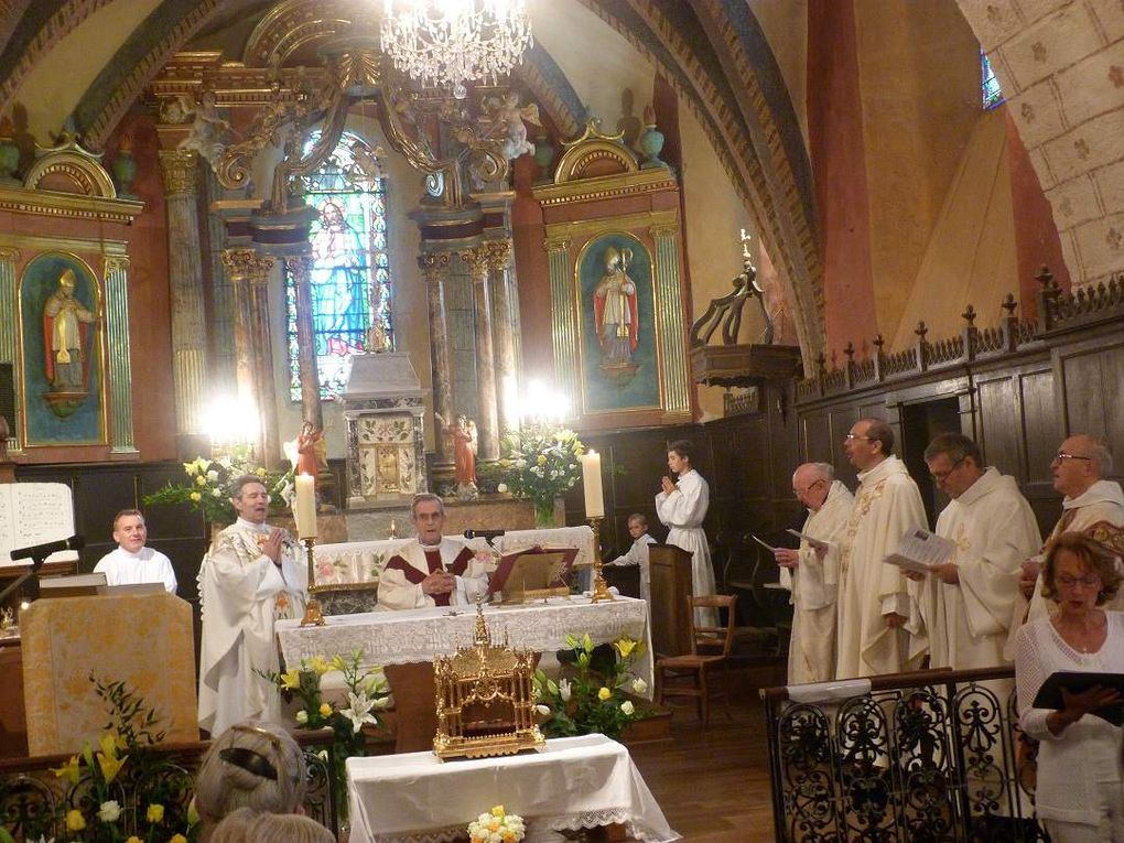 350e anniversaire de la découverte des reliques de saint Martin à Marcolès