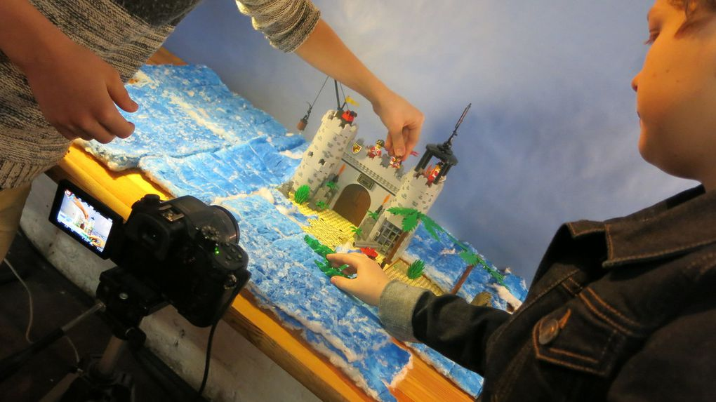 Quelques photos de notre making-of