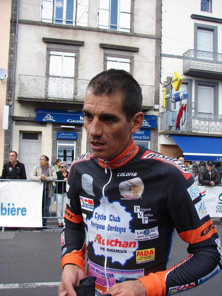 Julien Lamy, vainqueur à La Chapelle-Faucher en 2019.