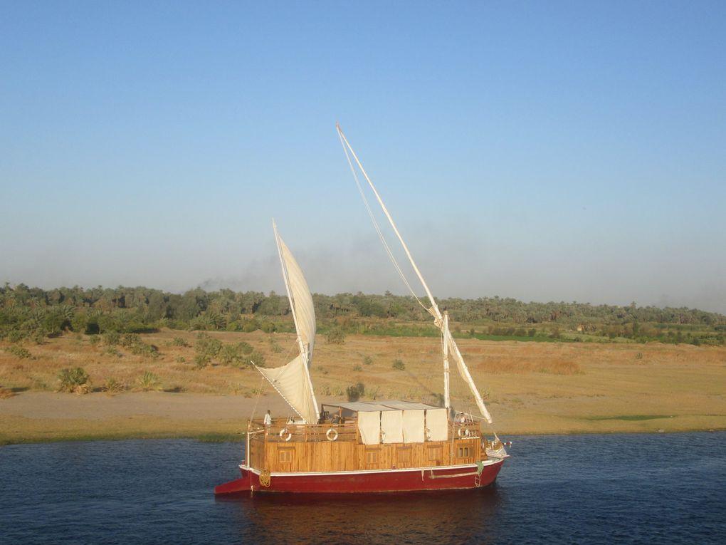 Croisière sur le Nil..... Troisième jour, de Edfou à Kom Ombo.