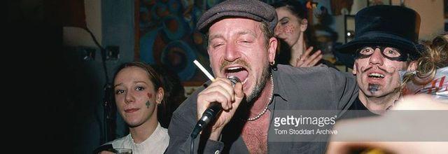 Bono - New Year Celebrations -Sarajevo -Bosnie-Herzégovine -31/12/1995