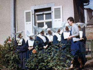 N°4 rue Marie Douchet à Algrange - Maison de la Sainte Famille - L.T.P.P. ou Lycée saint Vincent-de-Paul