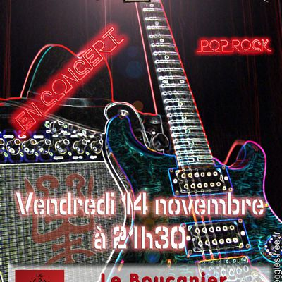The Fancy Froggies en concert au Boucanier de Mantes le vendredi 14 novembre 2014