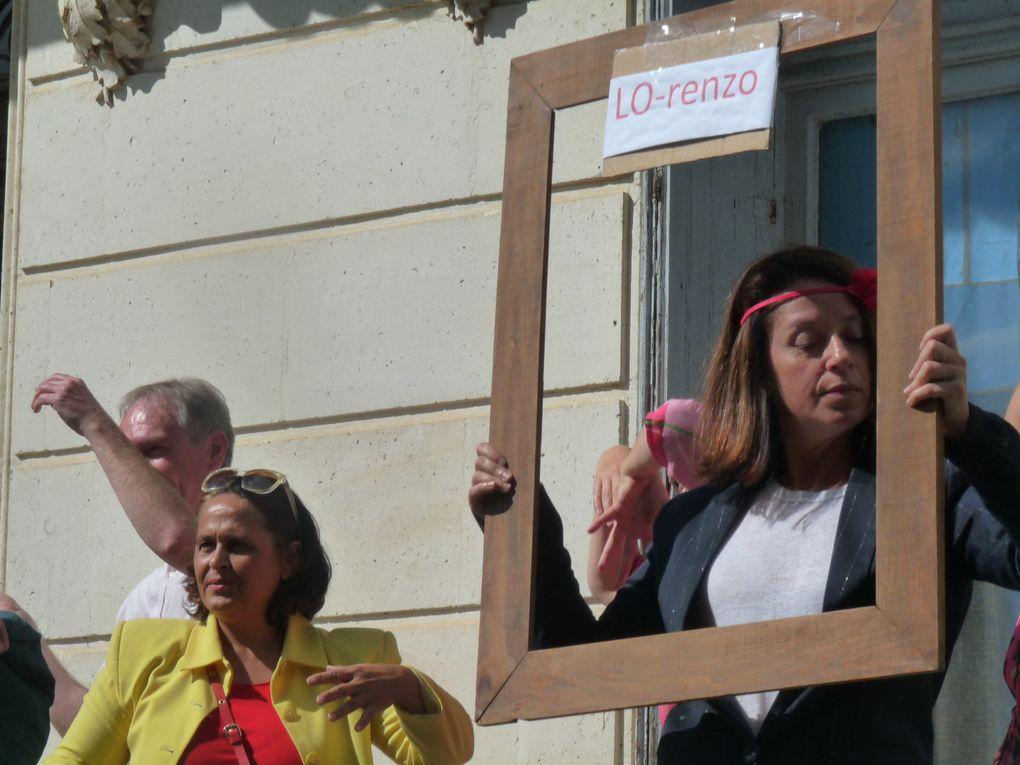 """la troupe de l'Atelier de formation au théâtre amateur de Périgueux (Afta) présentait sa pièce """"Château Haur, Château Bas"""""""
