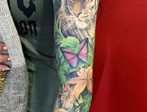 Tatouage Jungle Roxane Duquenne