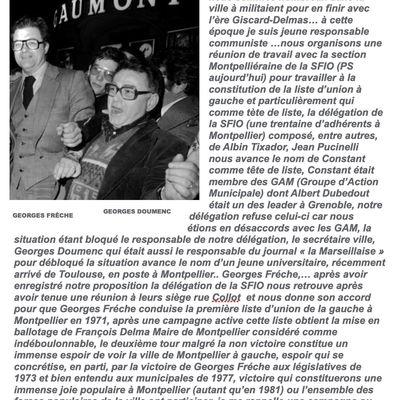 1971 : GEORGES FRÊCHE-GEORGES DOUMENC