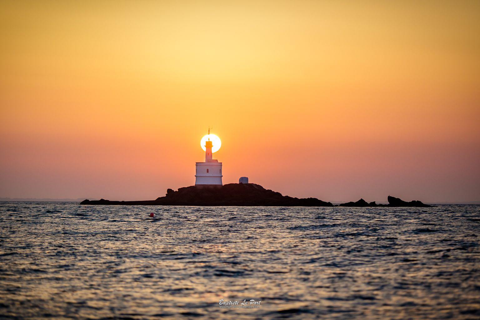 18 juillet - Le phare de la Teignouse au petit matin