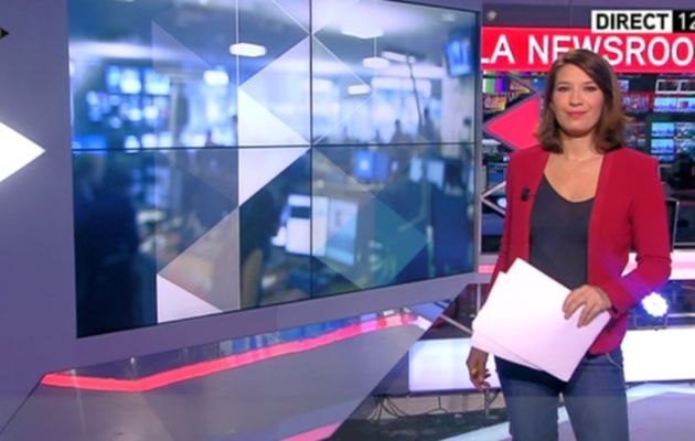 2013 11 09 - 12H00 - CLAIRE-ELISABETH BEAUFORT - ITELE - LA NEWSROOM DU WEEK-END