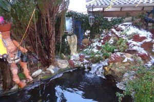 Encore la neige à Chabeuil ... La dernière de la...