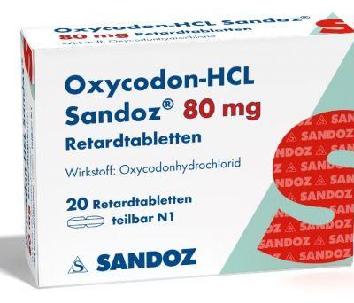 El primer genérico de oxicodona para el dolor intenso