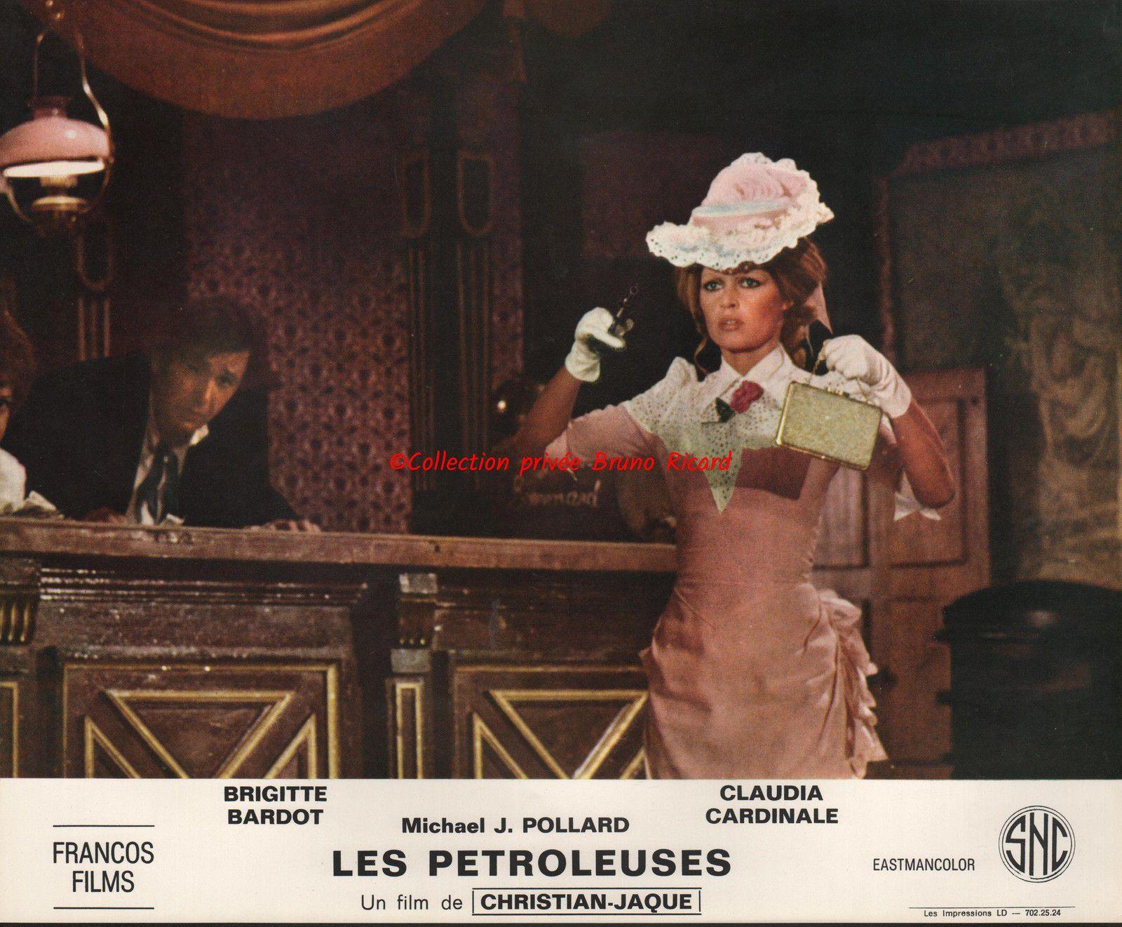 """Brigitte Bardot...Il y a 49 ans sortait en salle le film """"Les pétroleuses"""""""