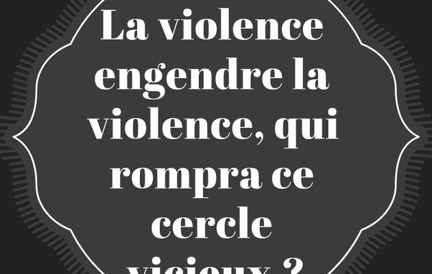 Quand on légitime la violence on attaque l'esprit républicain de la France, faudrait le dire à l'État, il a pas l'air de le savoir !