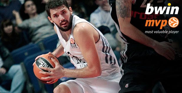 Nikola Mirotic named MVP for October
