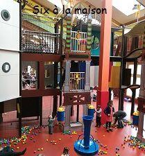 Center Parcs Bois aux daims balluba aire de jeux intérieure