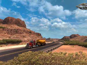 American Truck Simulator tease son DLC Arizona