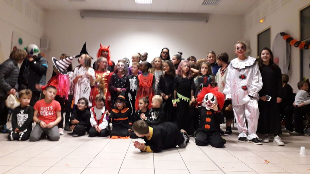 Photos de groupe d'Halloween