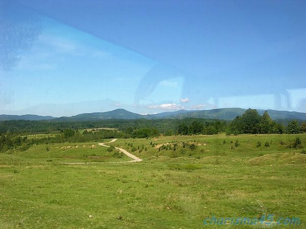 Route 76 Deva -Oradéa, Roumanie en camping-car