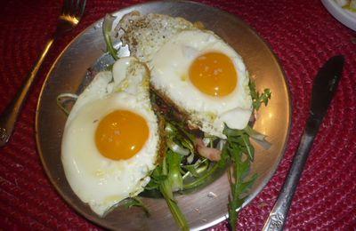 Pissenlit des prés et tarte aux oignons express :