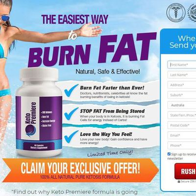 Keto Premiere Reviews & Price For Sale    100% Natural Ingredients & No Side Effects!!