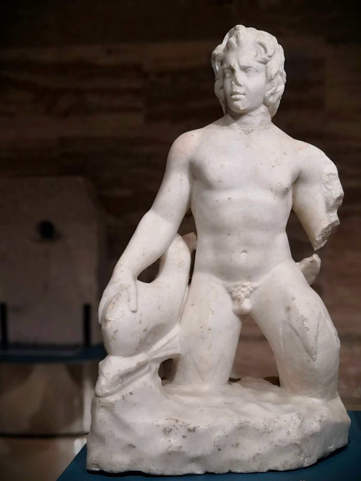 Marble Triton, Decoration from the impluvium of a private dwelling, Second century AD