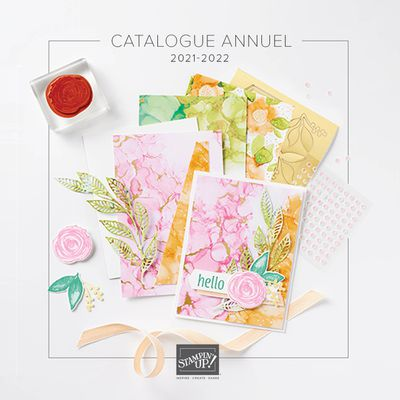 Nouveau catalogue Stampin'up 2021/2022