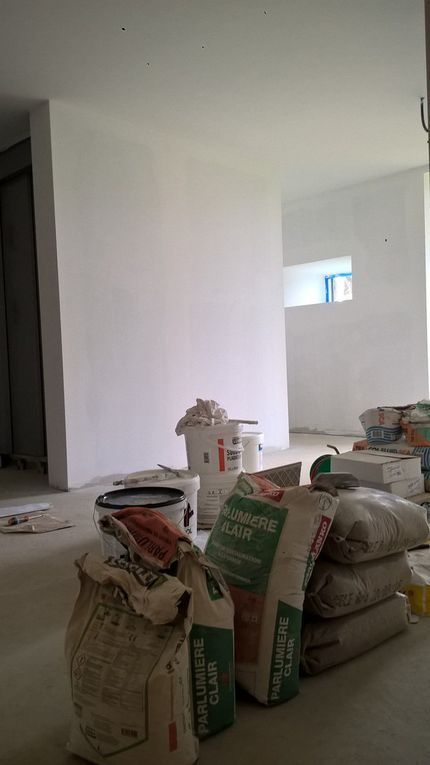 la fastidieuse blancheur des murs