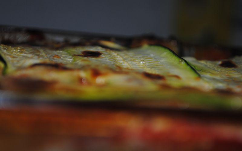 lasagne de légumes au tofu fumé