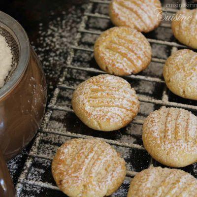 biscuit a la halva turc :