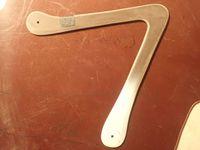 Les matériaux pour le boomerang