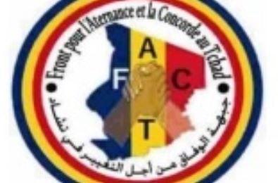 Paris: Message des voeux 2021  du Front pour l'Alternance et la Concorde au Tchad (FACT)