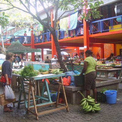 Seychelles - le marché de Victoria