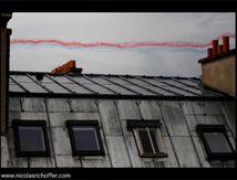 Ciel gris pour la Patrouille de France