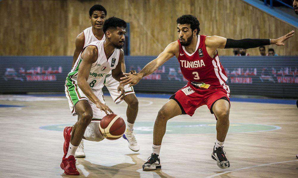 La Tunisie s'impose contre le Madagascar et se qualifie pour l'AfroBasket 2021