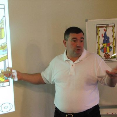 Initiation au tarot, avec Vincent Beckers