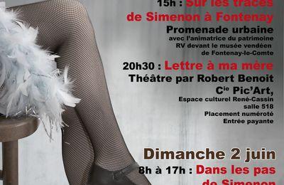 Festival Simenon à Fontenay : 4 rendez-vous et les femmes à l'honneur !