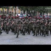 Défilé du 14 juillet 2021 - Ambiance lors d'une matinée de répétition sur les Champs-Elysées.
