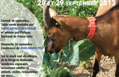 Rencontres agroécologiques à la Bergerie Nationale